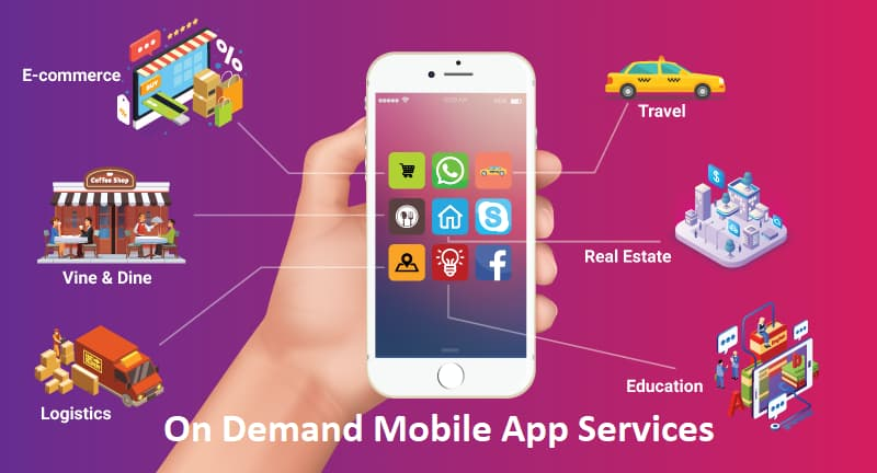 How On-Demand Mobile Apps Driving The Service Industries